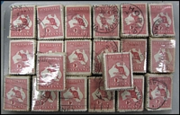 Lot 280:1d Red 2,000 examples in bundles of 100.