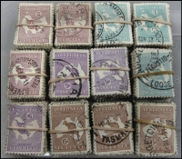 Lot 285:6d To 2/- 300 sets in bundles of 100. (1,200)