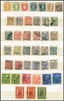 Lot 422 [1 of 3]:1850s-1900s Accumulation incl Newspaper Stamps, Postage Dues, Stationery cut-outs, also Austro-Hungarian Military Post, Lombardy & Venetia, Austrian POs in Turkish Empire, plus few Revenues, and few German items. Mixed condition. (100s)