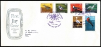 Lot 406 [1 of 4]:1963-2001 FDC Collection in large FDC album incl 1969 Picts (12) on two APost Shield covers with purple FDI cancels, and almost complete to 2000 with 1970 Ships (3 sets), (ex 1988 Coconut (4), 1990 $5 on 65c, 1990-91 Surcharges). All covers from 1976 are unaddressed. Very high retail. Generally fine. (100+)