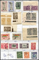 Lot 4 [1 of 3]:Approval Sheet Remainders incl few Aust Cols mainly Qld, Austria, Germany, Greece, Japan, Mautirius, Netherlands, Russia, etc. (1,000s)
