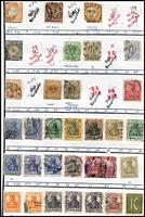 Lot 5 [1 of 3]:Approval Sheet Remainders incl Austria, France, Germany, Netherlands, Russia, USA. Generally fine. (1,000s)
