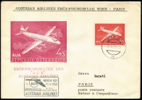 Lot 3 [2 of 6]:Austria 1930s-89 FDC & Commem cover collection with many illustrated covers, pictorial postmarks incl Christkindl, few commem first flight covers, registered, etc, mostly unaddressed. Also few unused postal stationery cards & envelopes. Generally fine. (320)