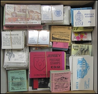 Lot 8:Booklets : Channel Islands accumulation from 