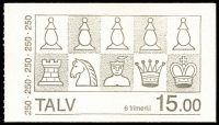 Lot 12 [3 of 5]:Booklets : Scandinavia accumulation incl Faroe Islands incl 1983 Chess (12), Finland 1988 Finlandia (7), Sweden incl 'Sample' booklet (5), etc. (Approx 100)