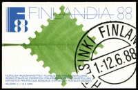Lot 12 [1 of 5]:Booklets : Scandinavia accumulation incl Faroe Islands incl 1983 Chess (12), Finland 1988 Finlandia (7), Sweden incl 'Sample' booklet (5), etc. (Approx 100)