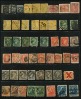 Lot 16 [2 of 4]:British Commonwealth Accumulation incl Bahamas, Canada QV-KGVI incl 1859 1c Queen, 5c Beaver (2), good range of small & large Queens to 15c (2), 1893 20c, 50c (2), 1897 Jubilee 50c, KGV defins various to 30c, few 1930s commems incl 1933 Grain Conference, range KGVI incl few booklet strips, few pre- cancels, Excise stamps, Special Delivery, registered stamps, etc. Ceylon 1903-05 30c,1r50 & 2r25 all optd 'SPECIMEN', Guernsey 1982 Postage Dues (2 sets MUH), few M/Ss, Leewards KGVI 1½d & 2d grey minor varieties, Lundy few imperf. Mixed condition throughout. (100s)