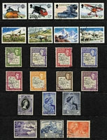 Lot 30 [3 of 3]:Falkland Islands Dependencies 1946-83 collection incl 1946-49 Maps (8, 2d fault), 1948 Wedding (2), 1954-62 Ships (15) and few later commems. . (37)
