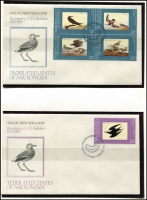 Lot 40 [2 of 2]:Micronesia 1984-89 Collection in Ka-Be album incl 1984 Definitives (16 plus unaddressed FDCs), 1985 $10 MUH, most issues MUH & FDCs to 1987 Anniversaries. also few Marshall Island issues. Cat £100+. (83 stamps, 3 M/S &  22 FDCs)