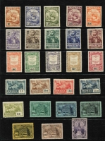 Lot 48 [3 of 5]:Portugal 1850s-1985 Collection on 45+ Hagners incl 1853 25r blue, few King Pedro, many King Luis imperf to 120r & perf to 300r, various 1895-1905 to 300r, 1898 Da Gama (8), range of 'REPUBLICA' opts, Ceres with & without imprint, 1924 Cameons (31), 1931-38 1E60 blue (MLH), 1949 Centenaries M/S, 1950 Holy Year (4), 1952 NATO (2), MUH M/Ss incl 1974 UPU, 1980 Lubrapex, 1981 & 1982 Europa. Inspection recommended. Very high catalogue value. Condition throughout is very mixed. (100s)