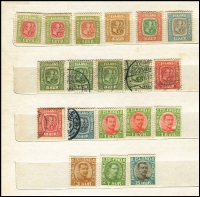 Lot 68 [2 of 3]:Scandinavia in 6 albums, stockbooks, etc, with strength in Sweden, also some Iceland, Denmark, etc, few booklets, FDCs, etc. Mixed condition. HEAVY LOT. 6.6kg. (100s)