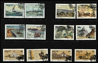 Lot 79 [3 of 5]:South West Africa FDCs 1974-87 unaddressed range (49) plus 29 CTO sets of various issues, also few other Aust & GB covers. Generally fine. (Approx 100 items)