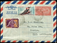 Lot 58 [1 of 5]:World Covers (no Australia) incl Czechoslovakia, Indonesia few FDCs, Malta few FDCs, New Zealand FDCs 1950s-70s, UN, USA, etc. Very mixed condition. (Few 100)