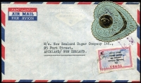 Lot 95 [3 of 6]:World Covers with strength in New Zealand FDCs, few Flight covers, Australian PSEs, Tonga, etc. Mixed condition. (100s)