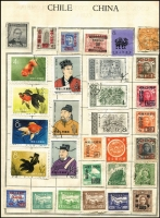 Lot 61 [3 of 4]:World In 23 Stockbooks, Albums etc, incl Australia, China, Christmas Island 1963 Picts (3 sets, 2 CTO), Hungary, Malaya, Malta, New Zealand, PNG, Ross Dep, USA, etc. Very mixed condition. HEAVY LOT - BUYER TO REMOVE. (100s)