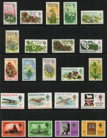 Lot 380 [3 of 4]:1953-84 Collection incl 1955-57 Picts, 1964-80 commems almost complete with Pictorials 1968, 1971, 1972, 1978-82 Ships (both sets), 1983 British Admin & 1984-86 Spiders. Cat £400+. (300+ & 12 M/Ss/sheetlets)