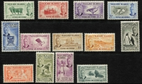 Lot 383 [2 of 2]:1952 Pictorials set. SG #172-85, Cat £180. (14)
