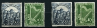 Lot 370:1950 Philharmonic Orchestra set x2, unmounted, Cat €300. (4)
