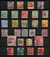 Lot 372 [1 of 3]:1840s-2000s Collection in as new 64 page VST album with range of QV issues, KEVII ½d to 5/-, KGV, KGVI incl 1939-48 10/- dark blue used, £1 brown MUH, 1948 Wedding £1 (no gum), QEII almost complete either mint or used, some later issues MUH. Mixed condition especially in the earlies. (100s)