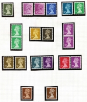 Lot 374 [3 of 4]:1967-2000 Specialised Machin Collection with numerous values identified incl 1993 24p Forgery, High value (large types) to £5, Harrison Castles to £5 (3), phosphor bands left, right & centre, 1st Class stamps (55), 2nd Class (36), some in booklets, many other booklets, incl Harrison, Questa, Walsall, some £5 & £6 Booklets have been 'exploded', others are complete, coils, many Regionals, also small selection of pre-decimal Machins. Face vale far in excess of £200. (100s)