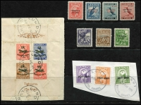 Lot 384 [2 of 5]:1940s-90s: with Davaar, Herm, Jethou, Lundy, Sark, Thomond, & several Europa issues. (120+, 2 covers & 2M/Ss)