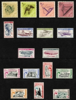 Lot 384 [1 of 5]:1940s-90s: with Davaar, Herm, Jethou, Lundy, Sark, Thomond, & several Europa issues. (120+, 2 covers & 2M/Ss)