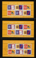Lot 478 [2 of 4]:1965-98 Collection on 30 Hagners or similar with most Child Welfare M/Ss to 1998 incl 1965, several other M/Ss incl 1992 Olympic Games, Greetings stamps, Christmas stamps, peel & stick, etc. Many later issues have 2 M/Ss MUH and one CTO. Cat £1,150++. (134)