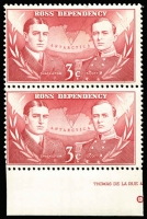 Lot 1743 [2 of 4]:Ross Dependency 1967 Pictorials in marginal pairs. Main Xref5-8. Retail A$170. (8)