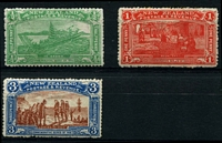 Lot 1587 [2 of 2]:1906 Christchurch Exhibition set, SG #370-73, very fresh, Cat £275. (4)