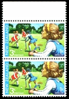 Lot 1768 [2 of 2]:1971 Health Hockey 3#T43a(Z), Cat NZ$400.