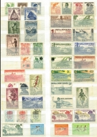 Lot 367 [3 of 3]:1952-92 Collection almost complete incl 1952 £1 Fisherman (3, used), many other commems, plus 1980 Arts Festival sheet. Mixed condition. (100s)