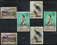 Lot 368 [1 of 4]:1952-95 Collection almost complete on Seven Seas hingeless pages (to 1979) and home made to 1995 incl 1963 SPECIMEN 10/- & £1 & 1964 10/- Bird (2 sets of each, one no gum) and 1960 Postage Dues (5), (ex SG D1, 1a) and June Dues (8). Some later issues are MUH. Mixed ondition. (100s)
