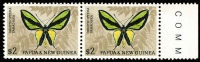 Lot 418 [1 of 2]:1966-67 Butterflies 2 sets in marginal pairs. Main Xref82-92 (24)