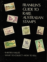 Lot 160 [2 of 2]:Australia: range of stamp catalogues, Franklin's Guide to Rare Australian Stamps; also New Zealand Campbell Paterson Catalogue with some updates, range of Campbell Paterson album pages, 1968 SG Simplified World Catalogue, etc. VERY HEAVY LOT.