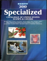 Lot 127:Scott USA Specialized 2010: Catalogue of United States Stamps & Covers, published by Scott, 2009, 1040+pp. Pb.