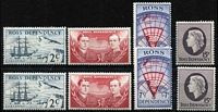 Lot 2205:1967 Pictorials set x2, SG #5-8. Retail $170. (8)