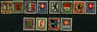 Lot 499 [2 of 2]:1914-22 Pro Juventute Collection incl 1916 & 1917 sets. Mixed condition. Cat £500+. (34)