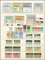 Lot 407 [2 of 4]:1950s-80s Accumulation on Hagners & in stockbook incl AAT with Decimal MUH (Face value $80+), Christmas Island incl 1972-73 Ships (6 sets), 1977-78 Visitors (3 sets), 1980-81 Phosphate (4 sets), 1987-89 Wildlife to $5 (ex 41c), Cocos (Keeling) Islands 1982-83 Butterflies (16, CTO), 1991 $3 Booklet pane, also few Nauru & Norfolk Island. Generally fine. (100s)