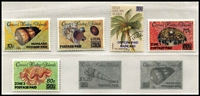 Lot 426 [2 of 2]:Cocos (Keeling) Islands 1963-93 Collection on Seven Seas pages almost complete (ex ASC 140b & 141a). Retail $465.