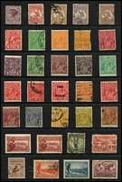 Lot 227 [1 of 4]:1913-80s Collection on 35 Hagners with small array of pre-decimal issues, 2006 Commonwealth Collection and range of MUH decimal issues (total face value $150+), few 'Replica cards', plus 1988 Brisbane Expo covers (Few 100s, plus 64 covers).