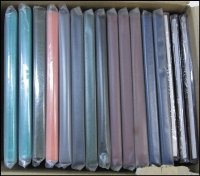 Lot 353:Year Books 1981 (3, unopened), 1982 (3), 1983 (3), 1984, 85 & 86, 1988, 1992, 93 & 94 (2). HEAVY LOT (13+kg). Face Val $418. (16)