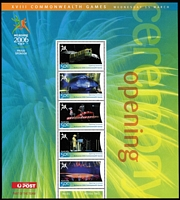 Lot 270 [2 of 3]:2000-2012 Olympic & Commonwealth Games issues incl 2000 Games (16 sheets), Opening Ceremony, 2004 Athens (17 sheets), 2006 Commonwealth Games (17 Sheets), Winter Olympics, 2008 Olympics (14 sheets), Paralympic sheet, 2010 Winter Games (2 sheets), 2012 Olympics (7 sheets), also set of 'Sporting Pictograms of the Sydney 2000 Olympic Games' set of 28 medals & cards in special album. Face value of stamps $380+. (100s)