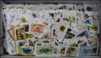 Lot 64:1.0kg of $1 stamps, cut close. No Concession stamps. (100s)