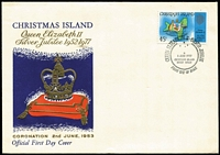 Lot 451 [3 of 5]:1958-2013 FDC Accumulation incl 1968-70 Fish on 5 FDCs, plus 5 additional 1970 15c & 30c on FDCs, 1972-73 Ships 4 sets on FDCs, selection of Christmas issues & other commems, few Philatelic Bureau covers and a range of aerogrammes (some CTO). Generally fine. (Approx 120)