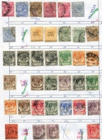 Lot 4 [3 of 3]:Approval Sheets with selections from Europe incl GB, Germany, Malta, Sweden, Asia, South East Asia, Spanish Colonies, etc. (Approx 3.5kg) (1,000s)