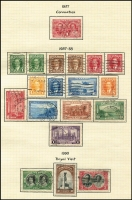 Lot 20 [3 of 3]:Canada 1880s-1953 Collection incl few QV & KEVII, KGV 1922-31 Coil Stamp 1c Chrome-yellow vertical pair imperf between horizontally,1927 Confederation (8), 1932 Ottawa Conference, 1933 Grain Conference, 1934 Loyalists, 1935 SIlver Jubilee, 1935 Picts (11), 1937-38 Picts (11), 1942-48 War Effort (14), few coils, etc. Generally very fine, many with cds. (225+)