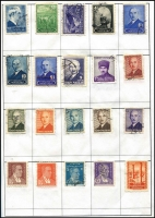 Lot 20 [1 of 3]:Europe In 10 Approval Books with strength in Europe (East & West). Mostly modern. (100s)