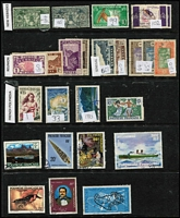 Lot 35 [2 of 2]:France & Colonies 1860s-1990s Collection few earlies incl 1877-90 5f lilac (perfin 'CNE', faults), few Merson's, Sowers, Peace, Mercury, Marianne, few perfins, etc, plus Colonies selection incl Algeria, French Polynesia, New Caledonia, etc. Mixed condition. (Few 100)