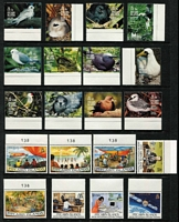 Lot 73 [3 of 5]:Pitcairn Islands 1940-1990 Collection on 28 Hagners incl 1939-51 Picts (10, MLH), MUH from 1967 Decimal opts to 1995 Oeno Island, incl 1984-88 Fish (15), etc. Generally fine. Retail $1,100. (Few 100)