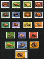 Lot 38 [2 of 3]:Samoa 1964-91 Collection on 48 Hagners incl 1967-69 Birds (12), 1972-76 Picts (ex 20s), 1978 Hawksbill Turtle (2), 1978-80 Shells (15, plus additional $5), 1983-84 Fruit (19), 1986 Butterflies (6), 1991 Parrots (4), numerous commem sets & 45 M/Ss. (100s)